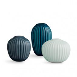 Hammershøi vase miniature 3-pak grøn