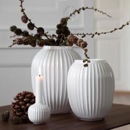 Hammershøi Vase 20 cm hvid