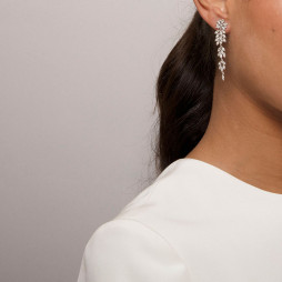 Øreringe Petite Laurel Crystal