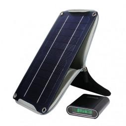 Crocodile solcelle oplader inkl. powerbank