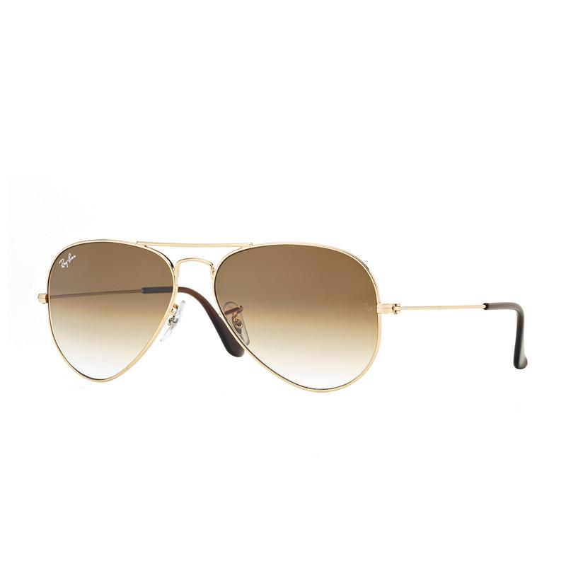 Solbriller Aviator Classic Gold