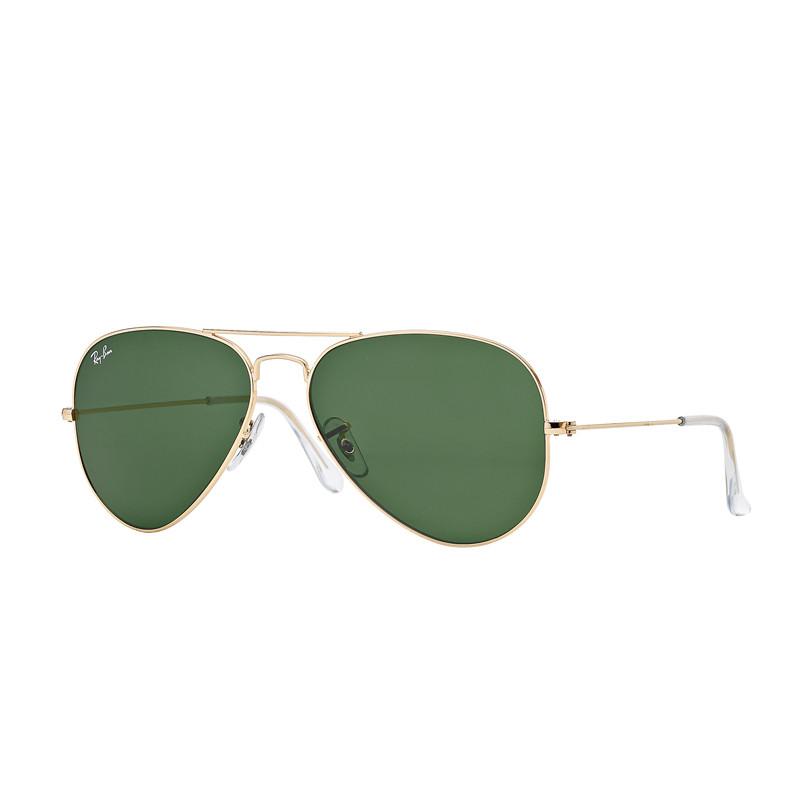 Solbriller Aviator Classic Green