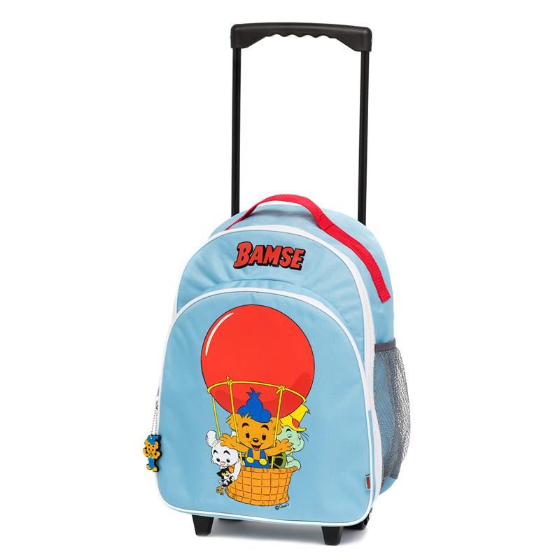 Bamse kuffert på hjul