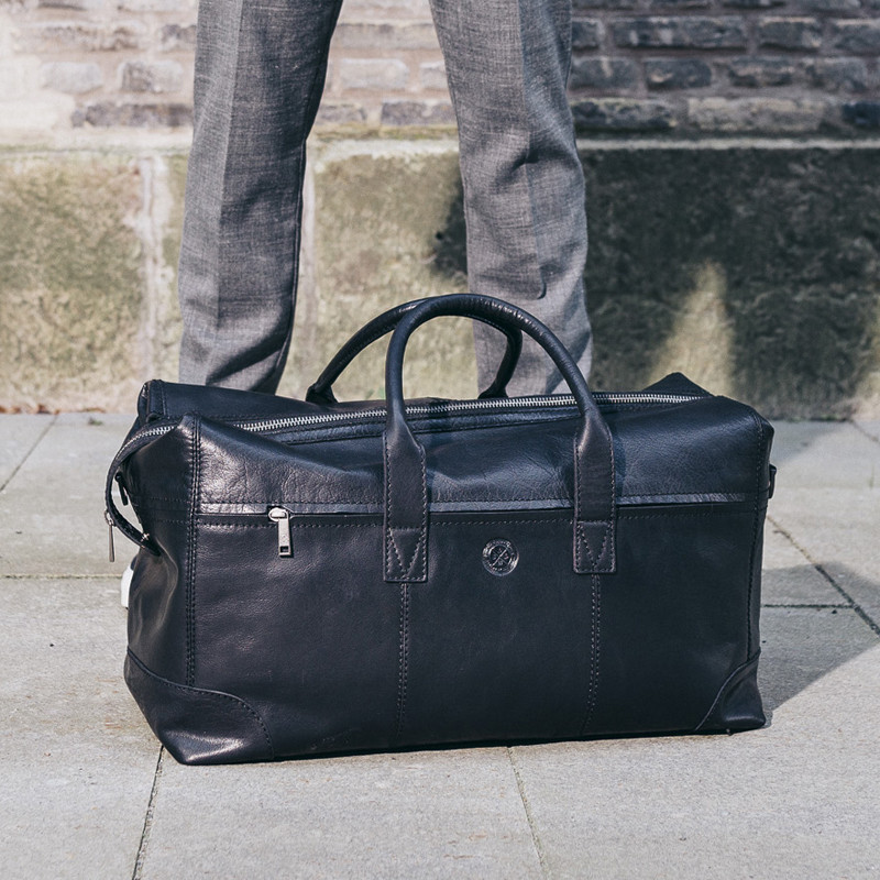 Metz weekendbag black