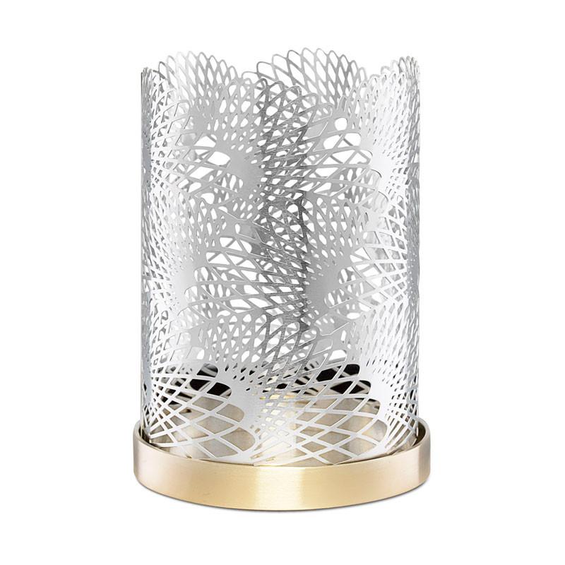 Lyseholdere Celestial 11cm sølv