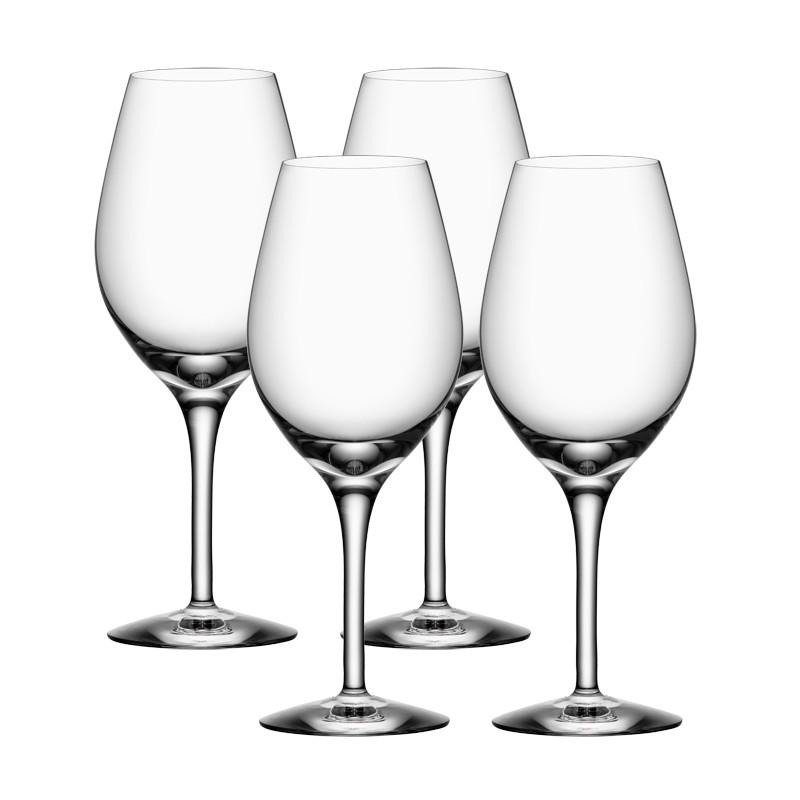 More viinilasi, 4 kpl