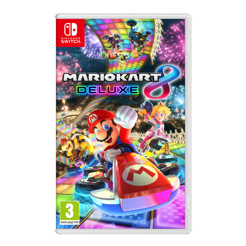 Mario Kart 8 Deluxe peli