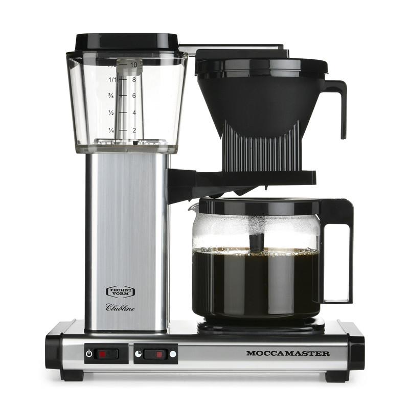 KBG962 AO kahvinkeitin, hopeanvärinen