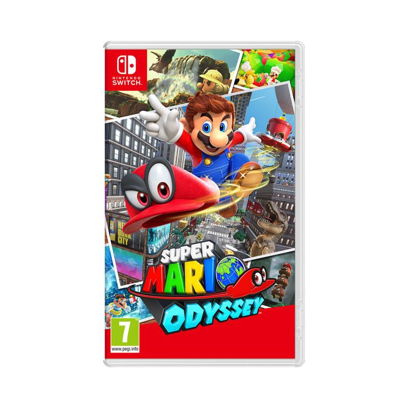 Super Mario Odyssey -seikkailupeli
