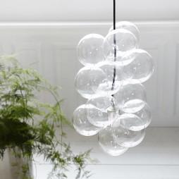 DIY ceiling lamp