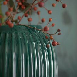 Hammershøi Vase 20 cm Green