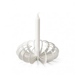 Shadow Candleholder White