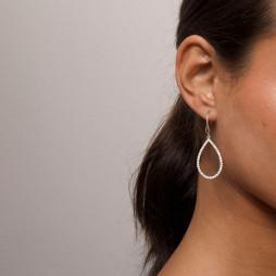 Kennedy Earrings Crystal