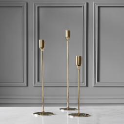 Candlestick Nattlight 36,5cm Brass
