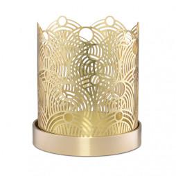Lunar Candleholder 7cm Brass