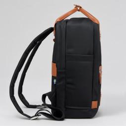 Lillen Backpack Black-Brown