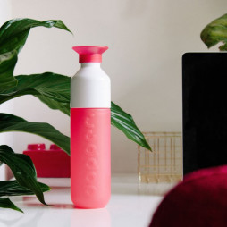 Water Bottle Coral Red
