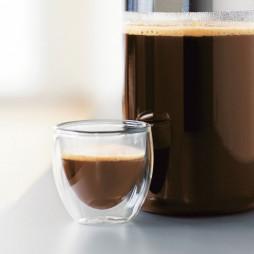 Pavina Double Wall Espresso Glasses, 6 pcs