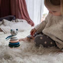 Bear Stacker Toy Senses