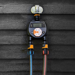 Water Timer Dual Outlet