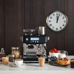 The Barista Pro Espresso Machine Black Truffle