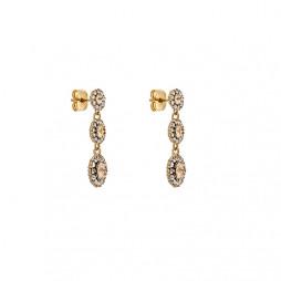 Petite Sienna Earrings Light Silk