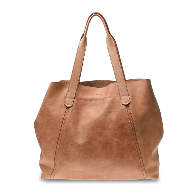 Paris tote bag tan