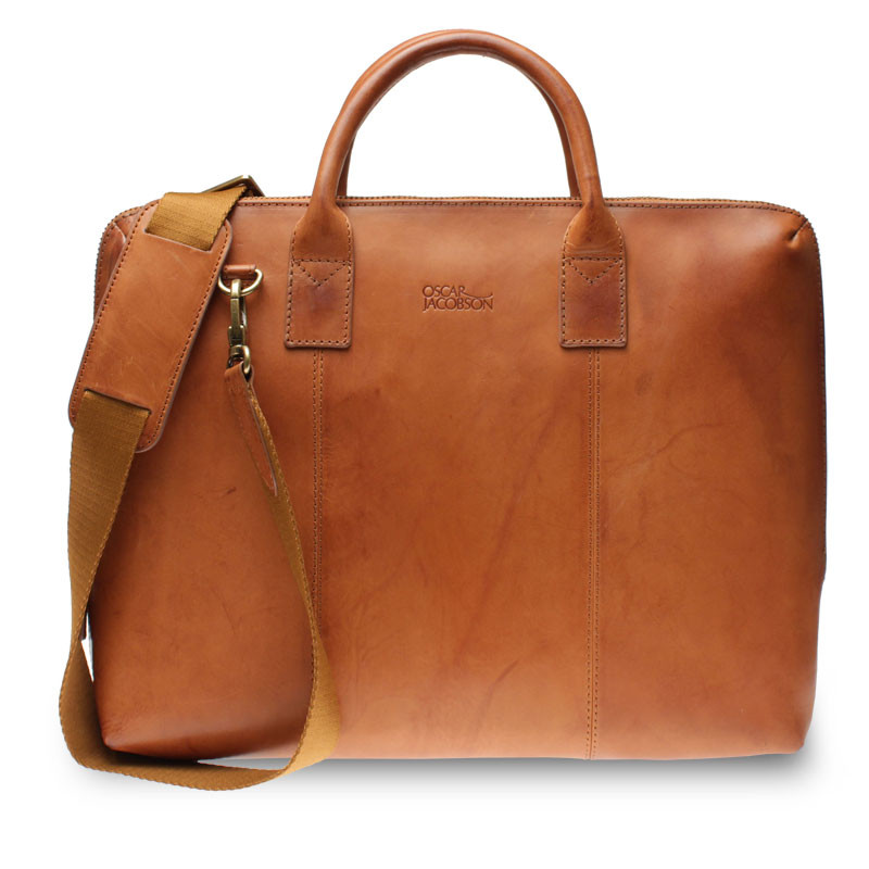Computer Bag 40x30 cm Tan