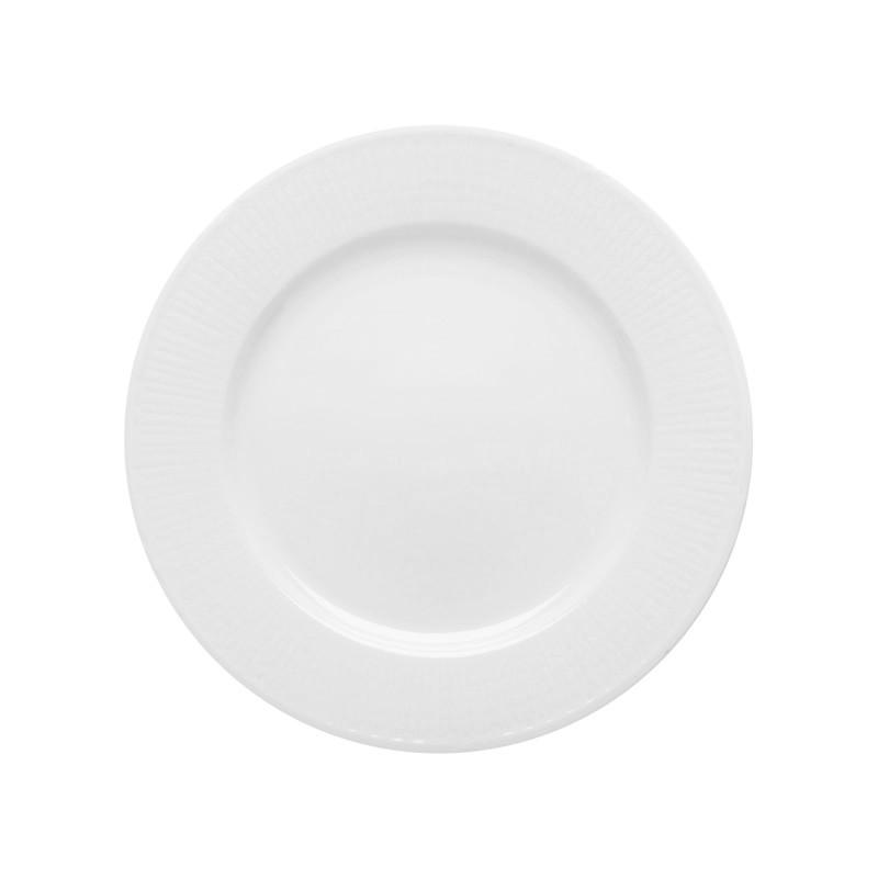 Swedish Grace Small Plate 17 cm Snow 6-pack