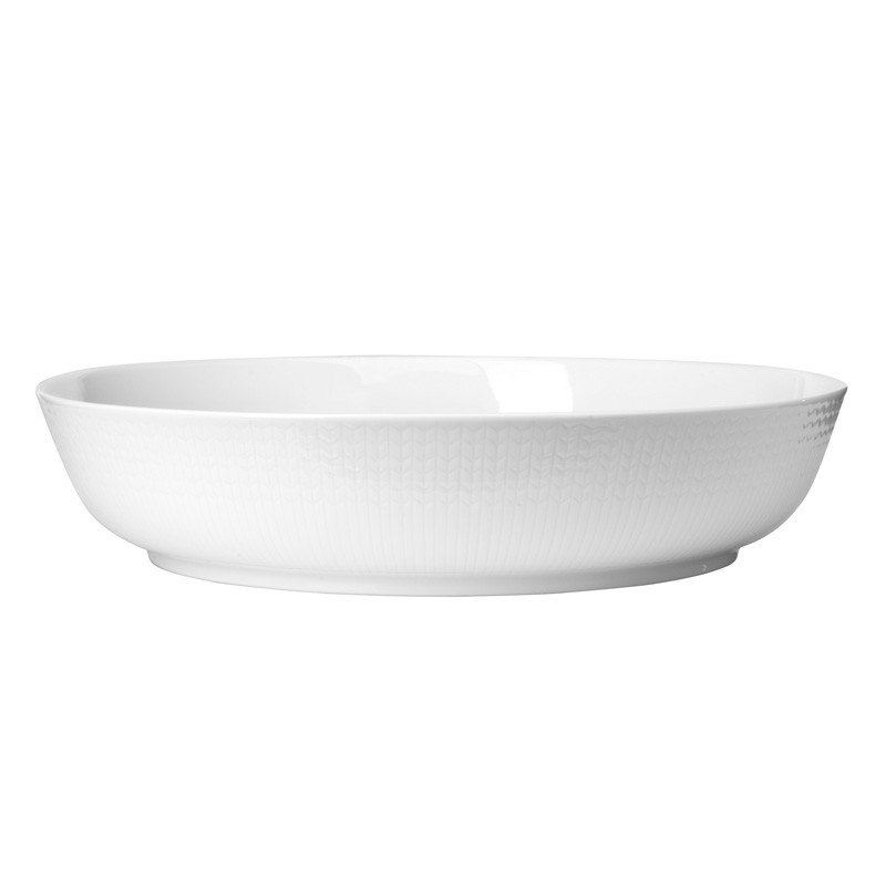 Swedish Grace Oven Dish Snow
