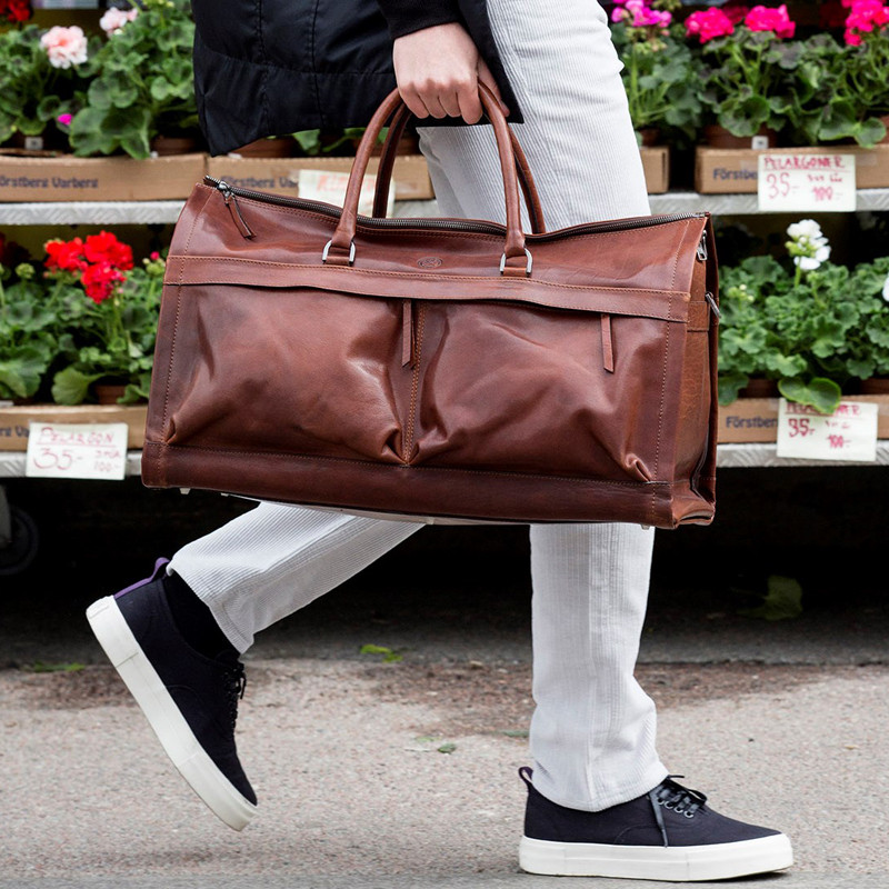 Orlando Weekend Bag Brown