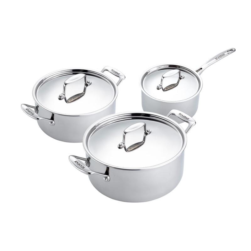 Fusion 5 Pots 3 pcs