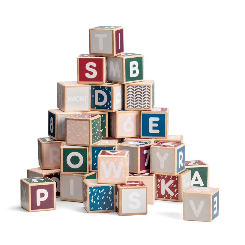 Letter Blocks 36 pcs