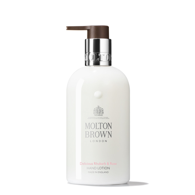Hand Lotion, Delicious Rhubarb & Rose