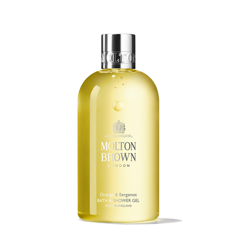 Bath & Shower Gel, Orange & Bergamot