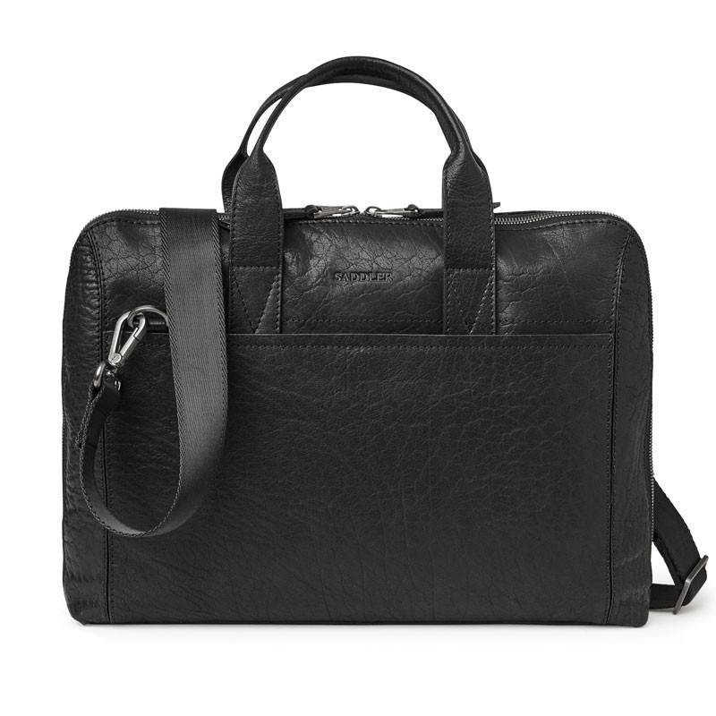 Gustav Computer Bag Black