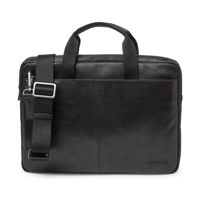 James Computer Bag Black