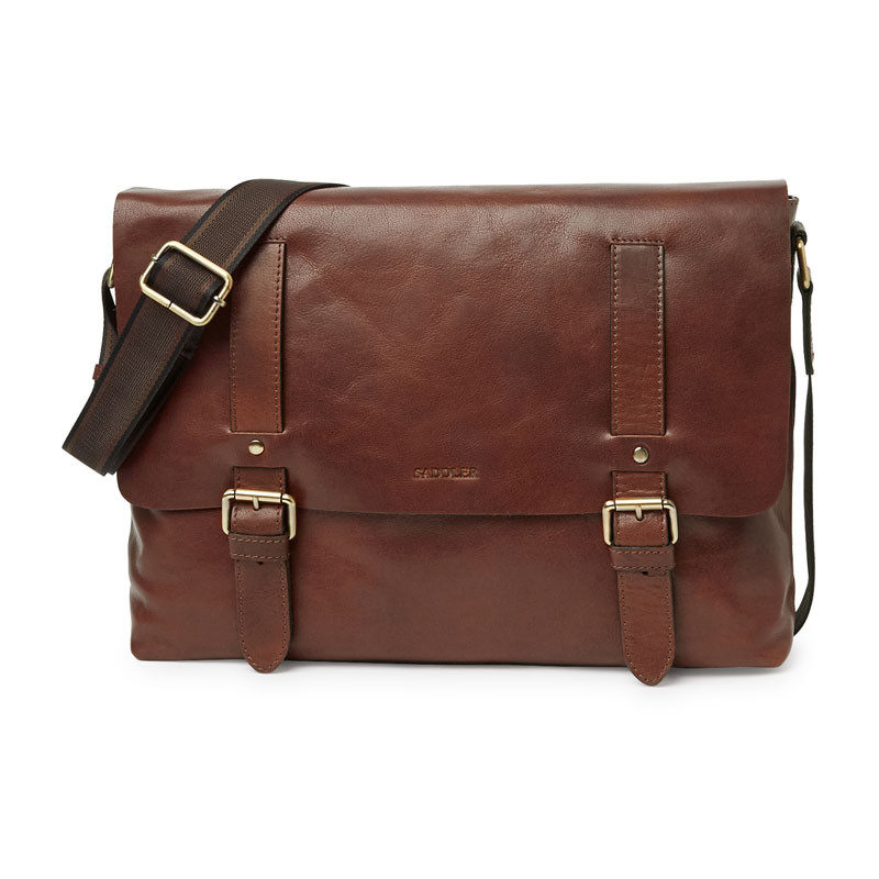 Ryan Messenger Bag Brown