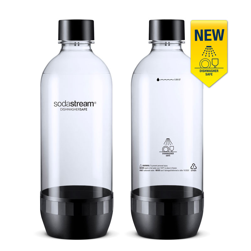 Twin Pack Dishwasher safe bottles
