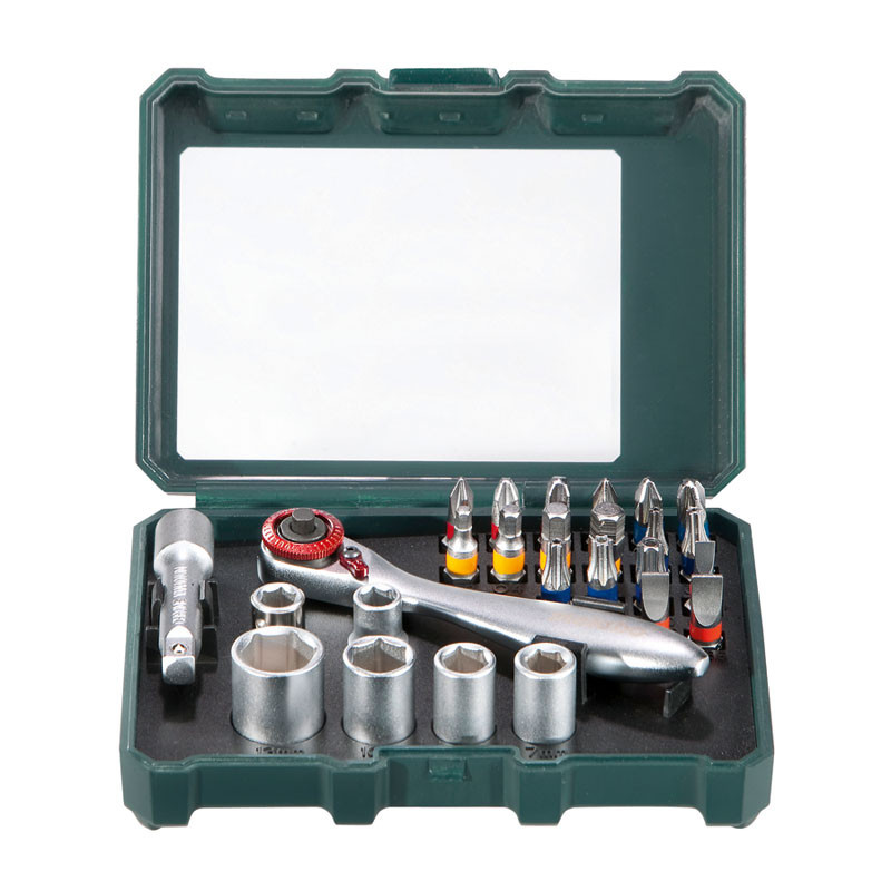 Bit Box and Ratchet Set 26 Pieces