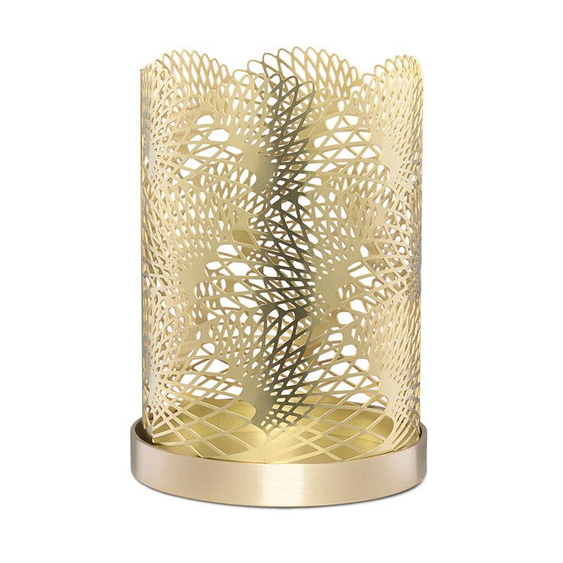 Celestial Candleholder 11cm Brass