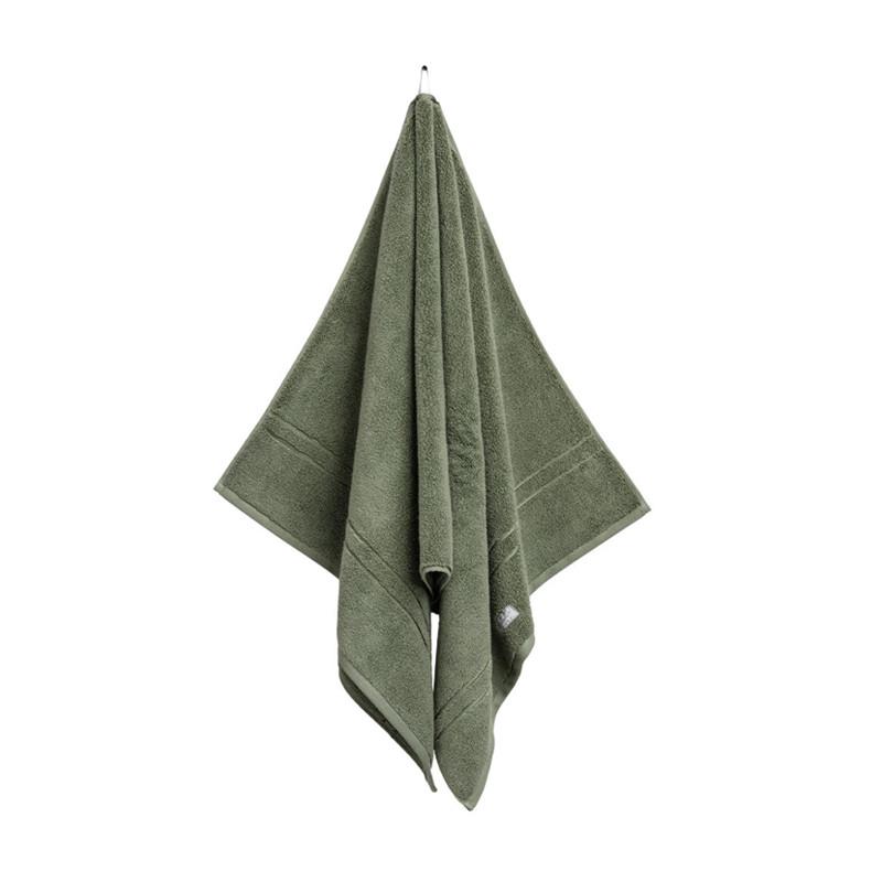 Organic Premium Towel Set 4 pcs Dark Cactus