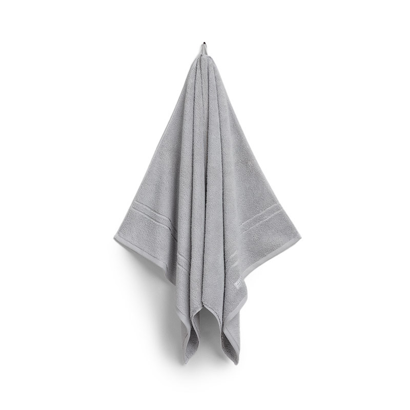 Organic Premium Towel 70x140 Light Grey