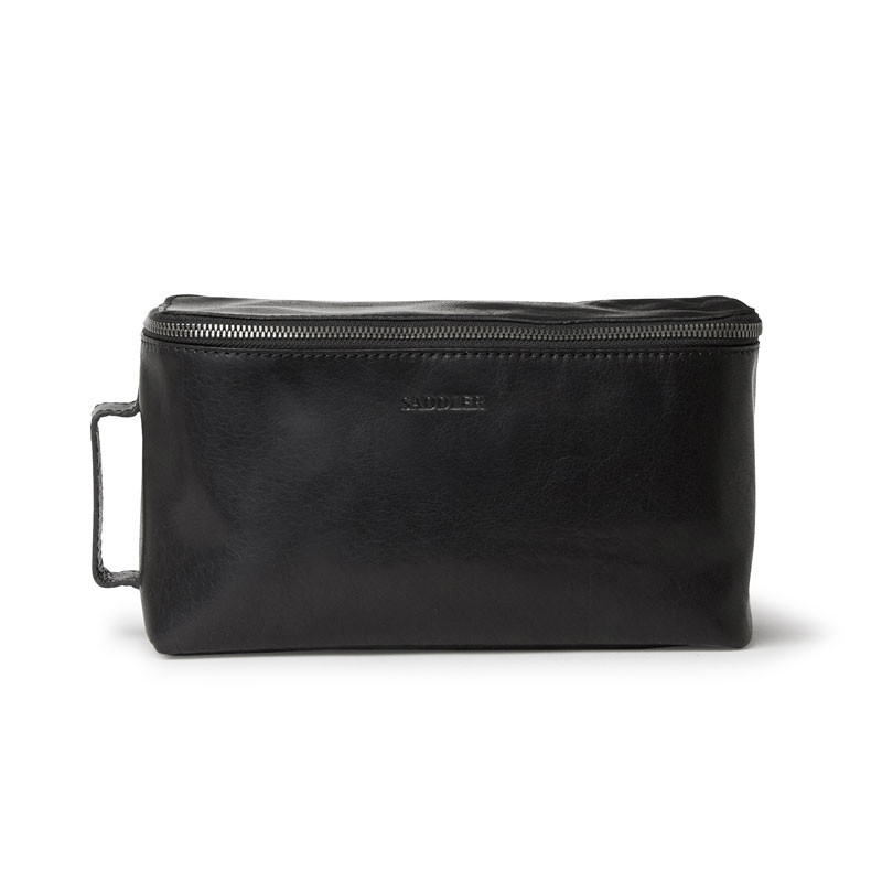 Barolo Toiletry Bag Black