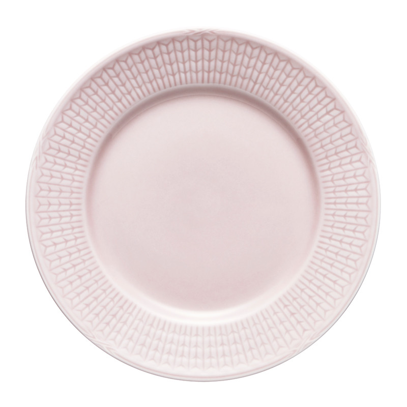 Swedish Grace Small Plate 17 cm Pink 6-pack