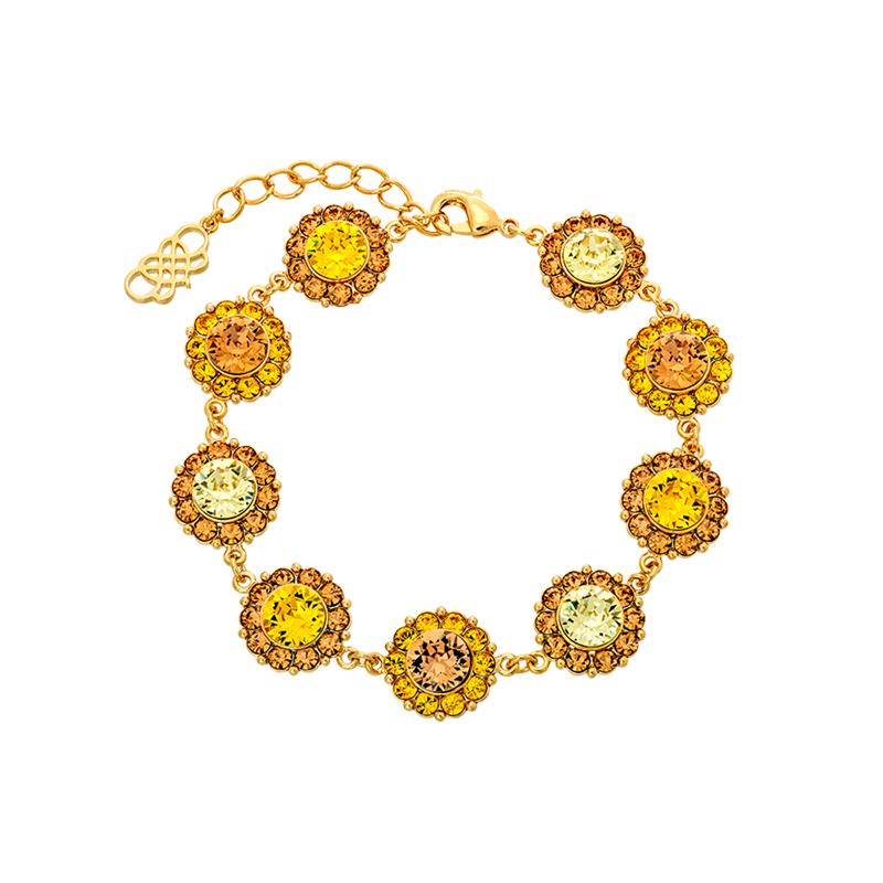 Sofia Bracelet Honeygold