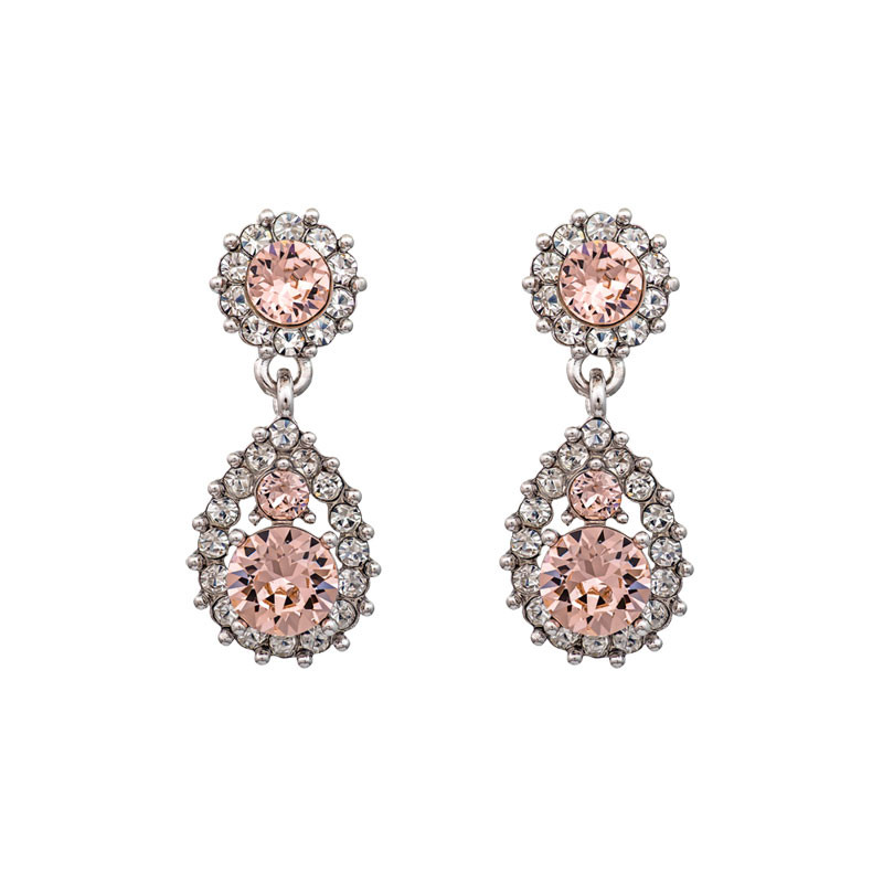 Sofia Earrings Silk