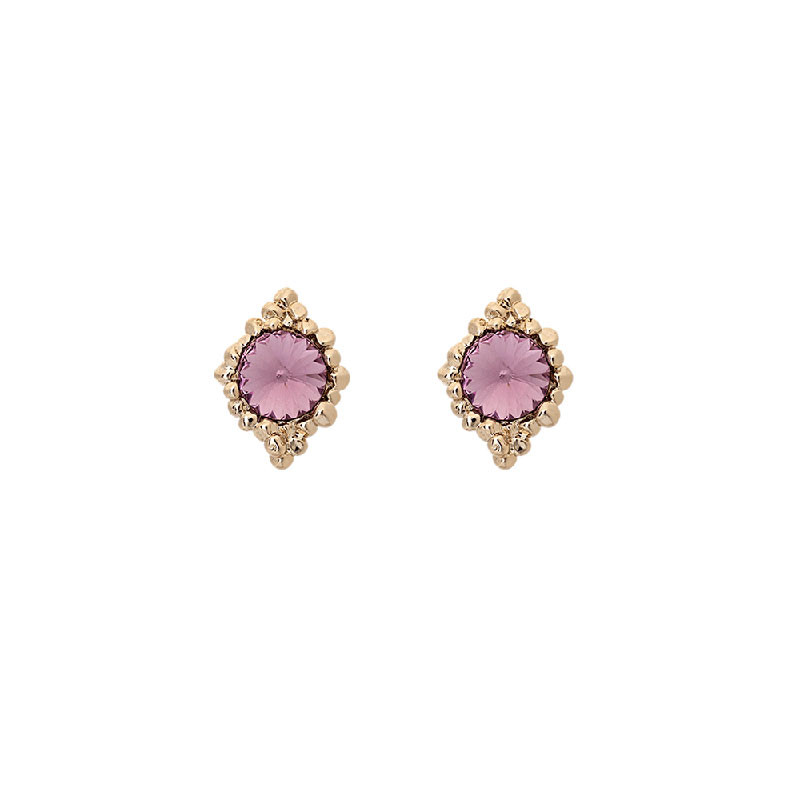 Miss Bonnie Earrings Light Amethyst