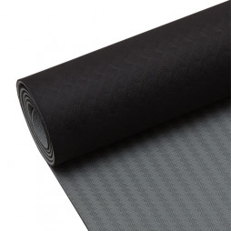 Yogamatta svart