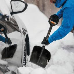 Snow Expert bilsnöskyffel teleskopisk